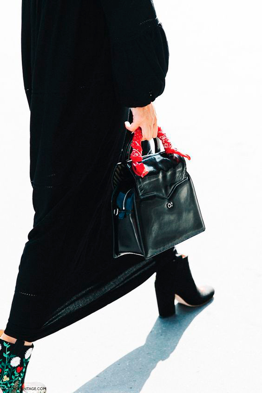 черная сумка