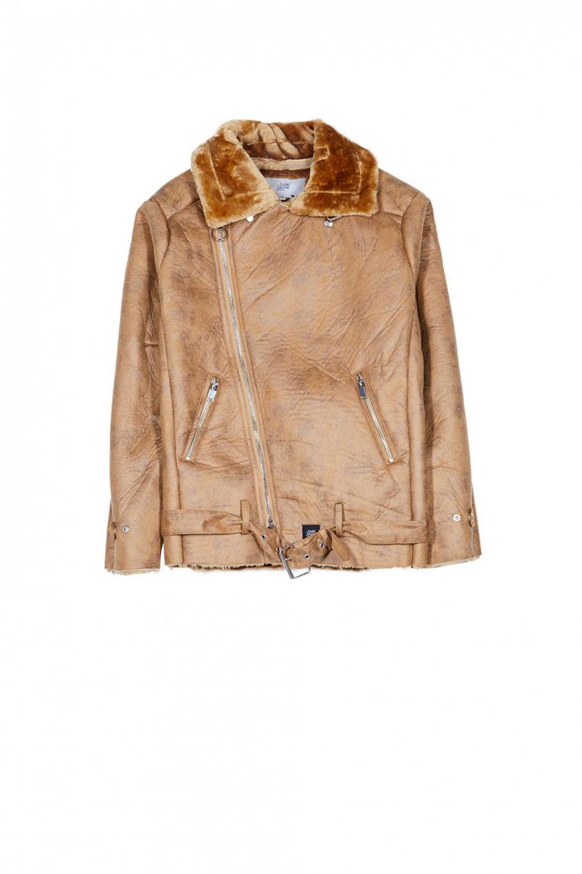 бежевая мужская куртка