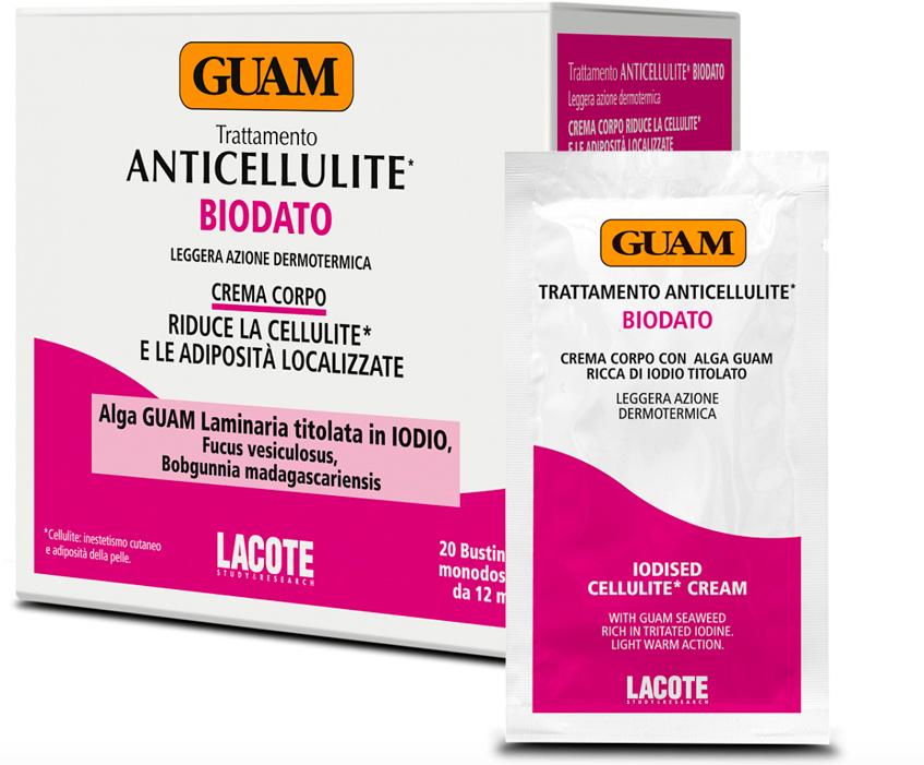 Крем антицеллюлитный Biodato  ANTICELLULITE от Guam