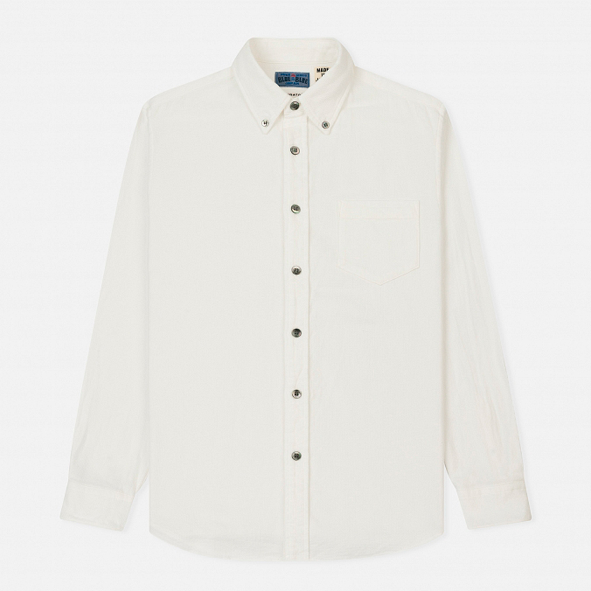 Рубашка белая Blue Blue Japan