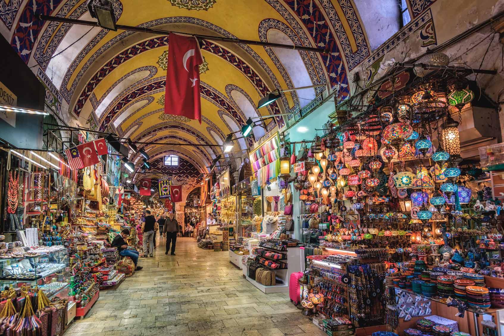 главный рынок Стамбула
