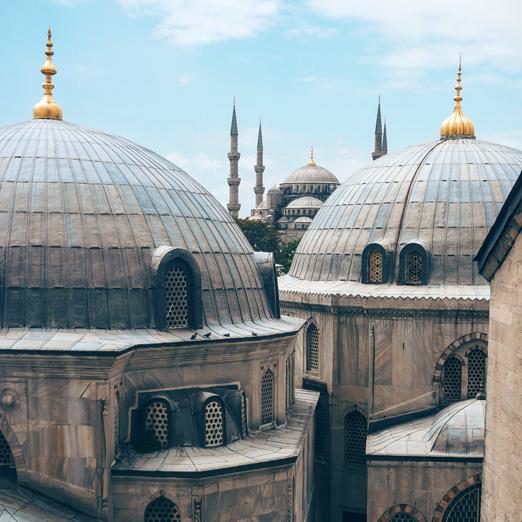 Стамбул пешие прогулки