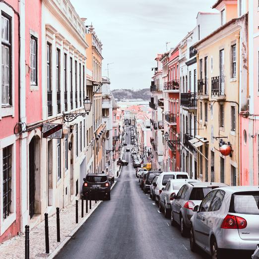 Лиссабон пешие прогулки