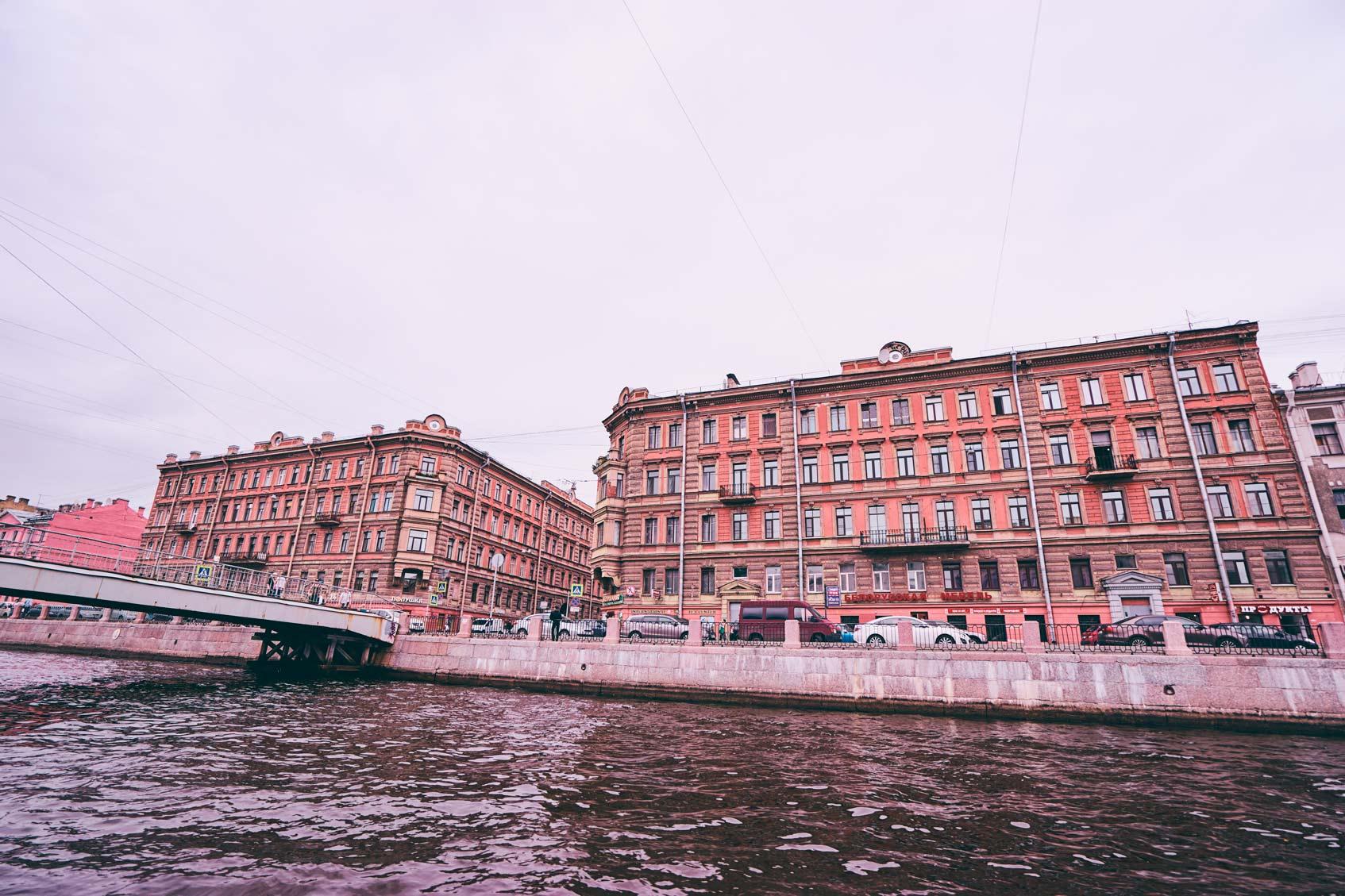 прогулка на теплоходе Санкт-Петербург