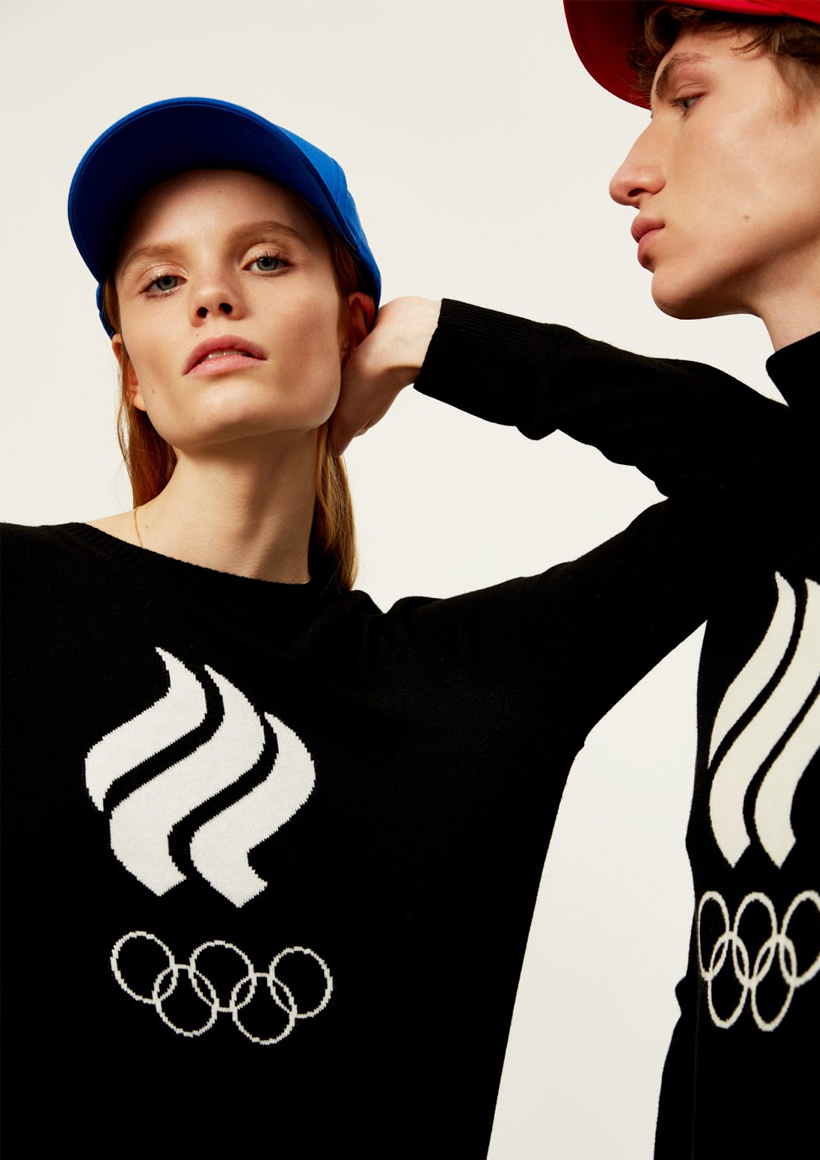 Zasport свитшот черный Олимпиада