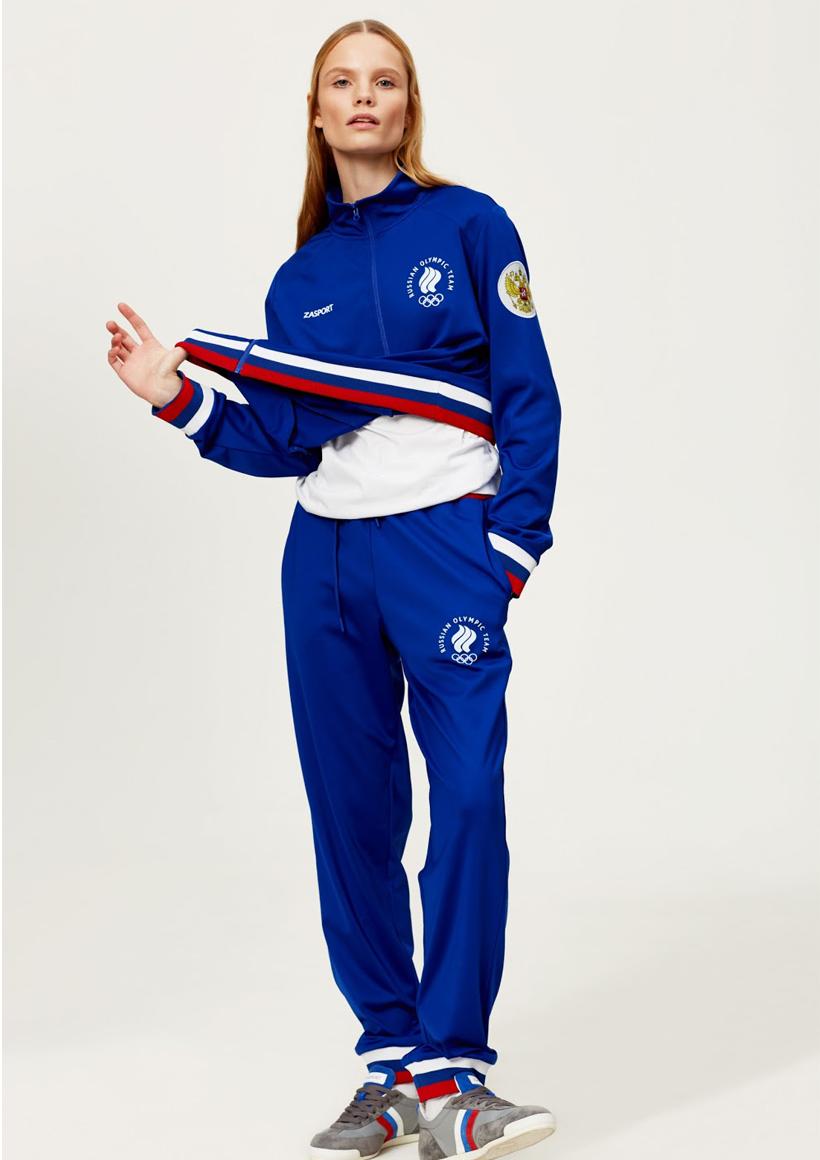 Zasport синий спортивный костюм