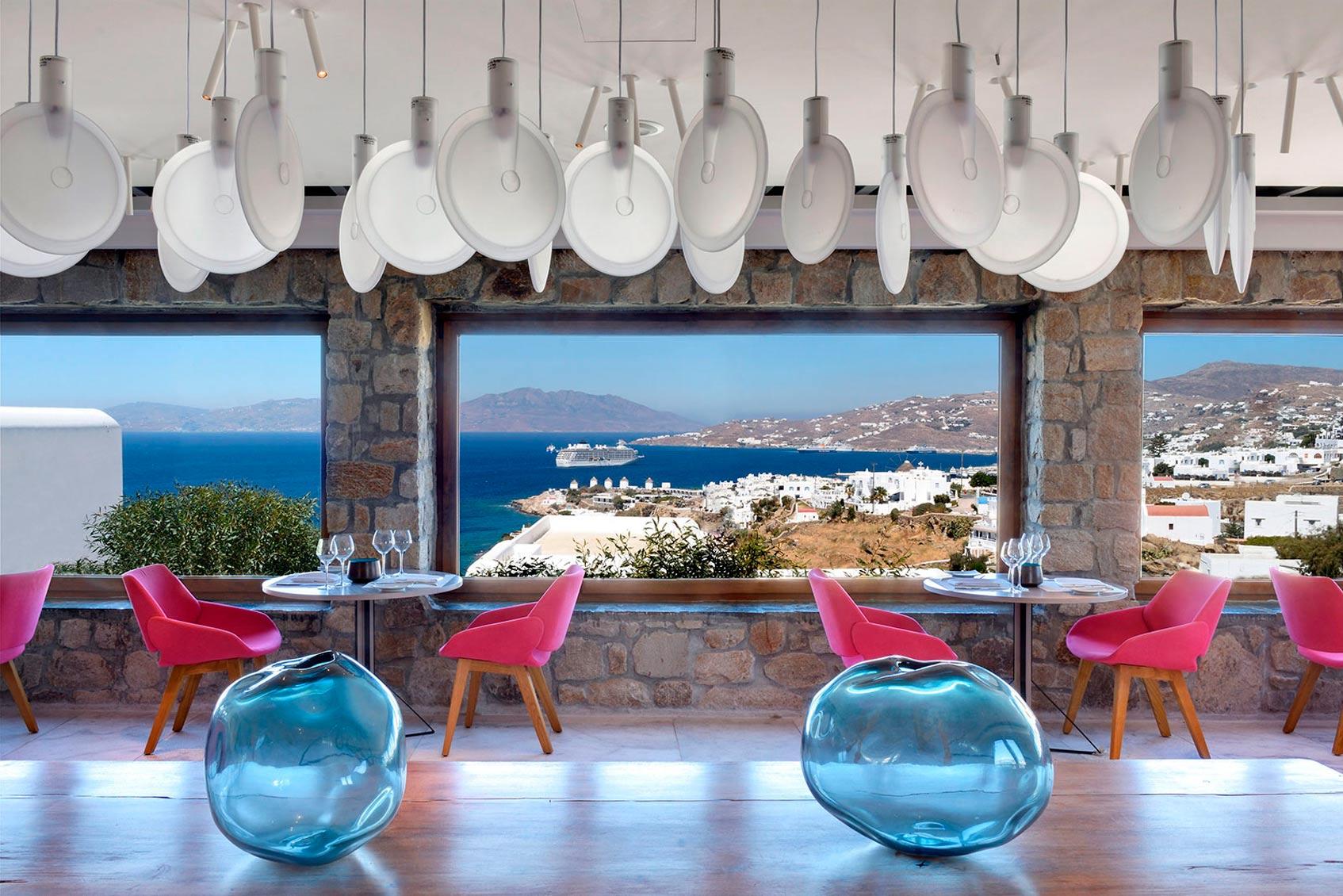 Отель Myconian KYMA, Design Hotel Миконос