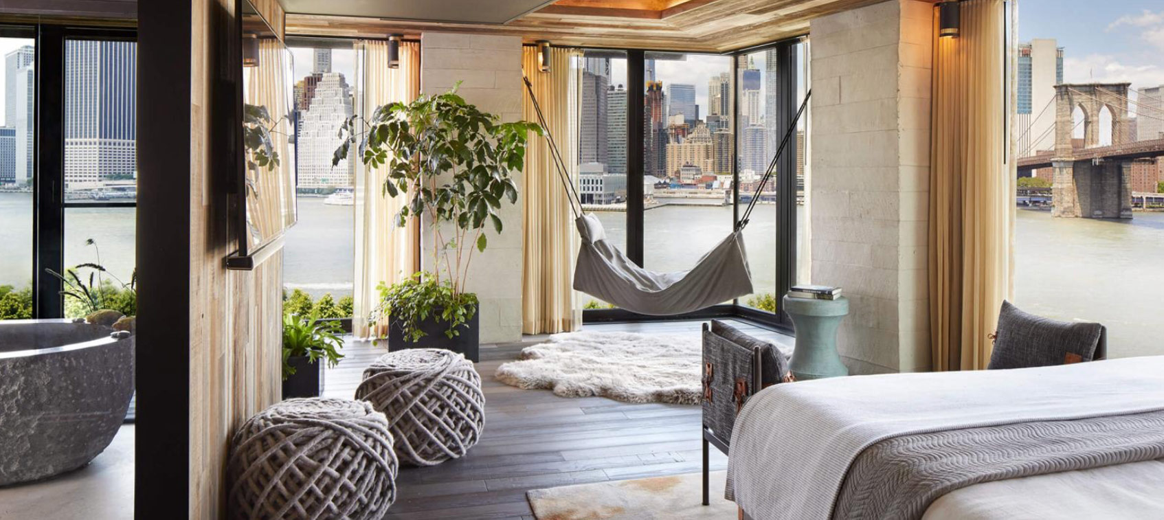 Отель 1 Hotel Brooklyn Bridge Нью-Йорк