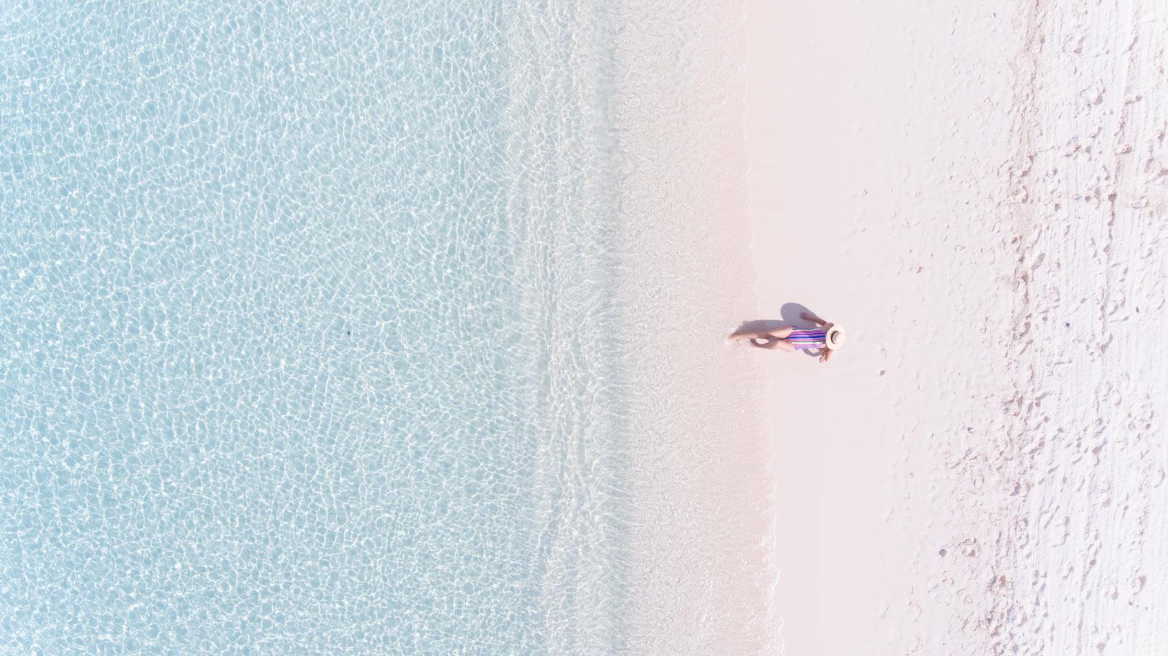 Увлажнение кожи на море