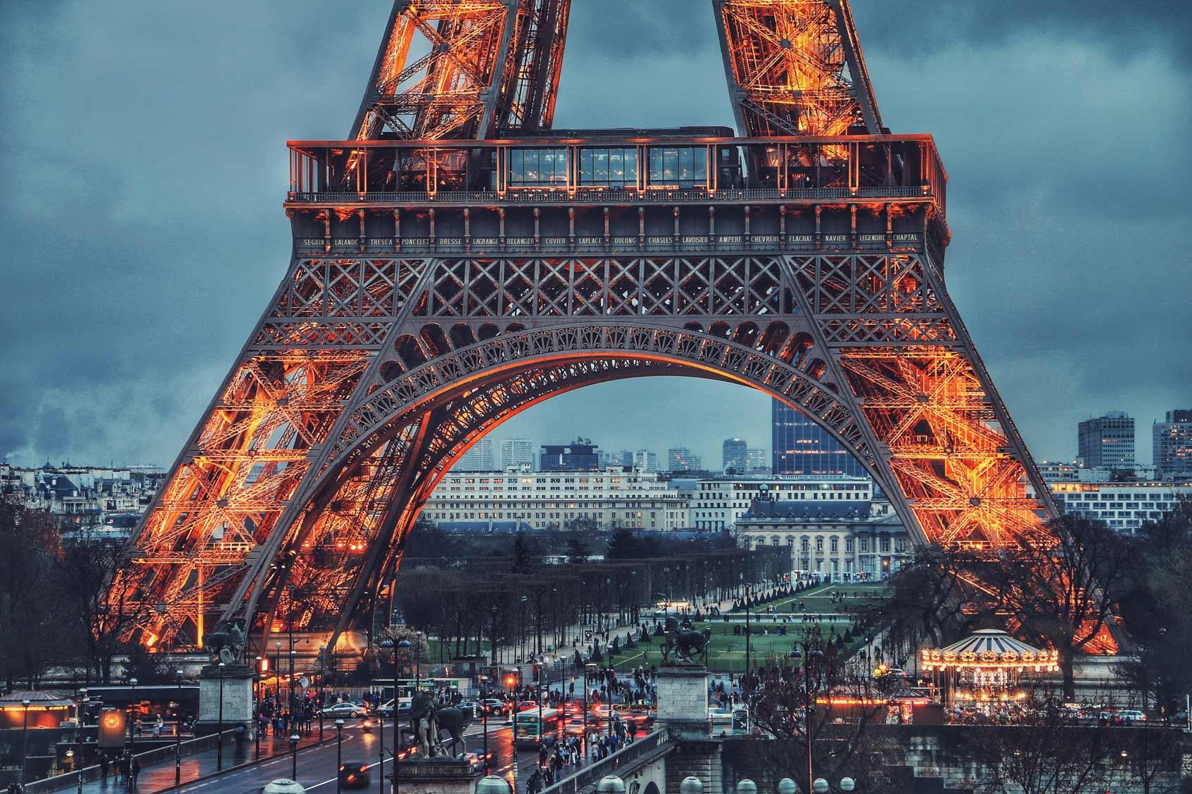 Пересадка в Париже что посмотреть за один день