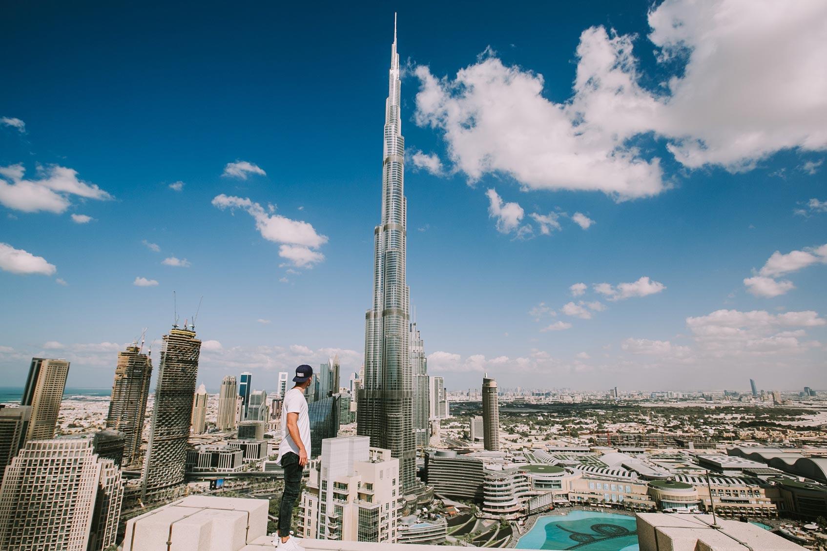 Дубаи смотровая площадка