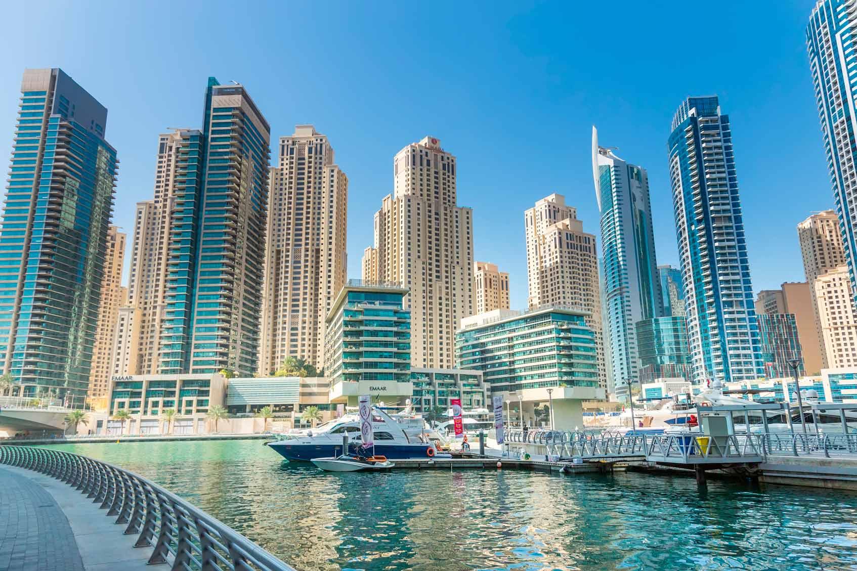 Дубаи где остановиться