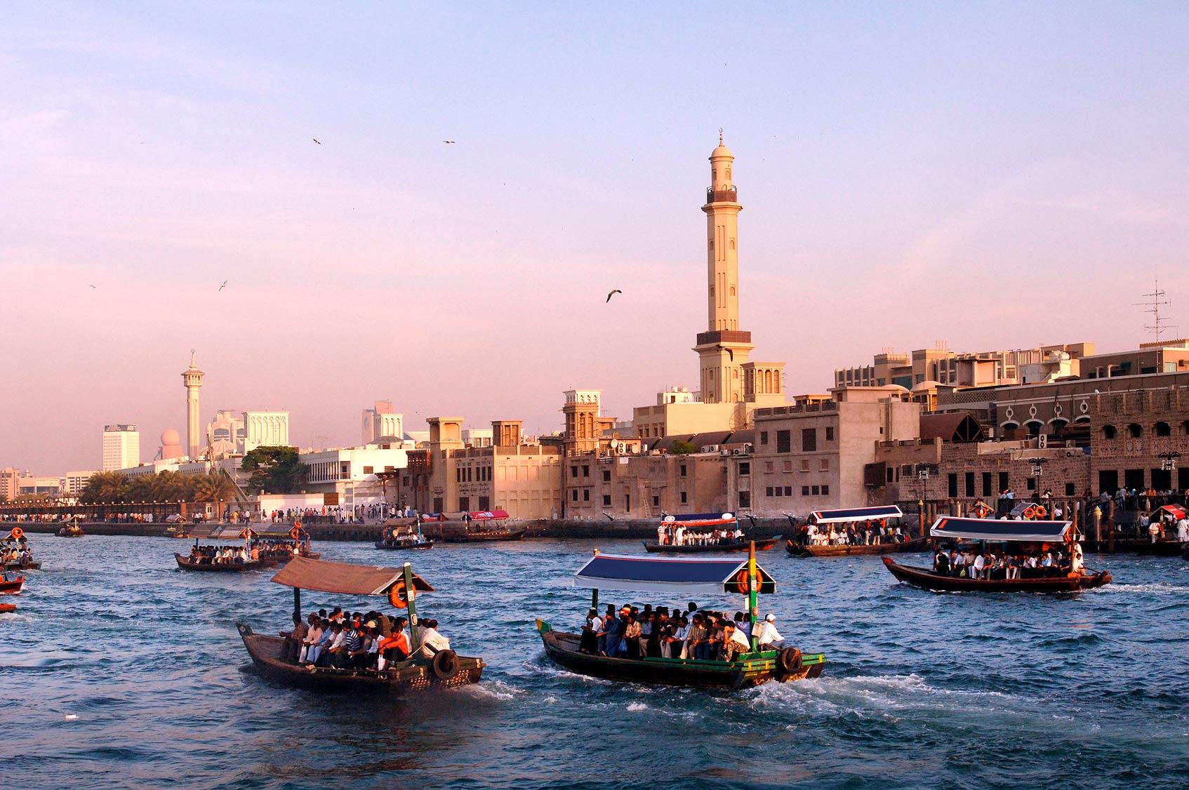 Дубаи бухта реки Крик