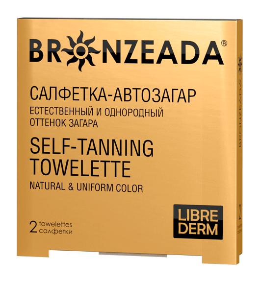 Салфетки для загара Bronzeada от Librederm