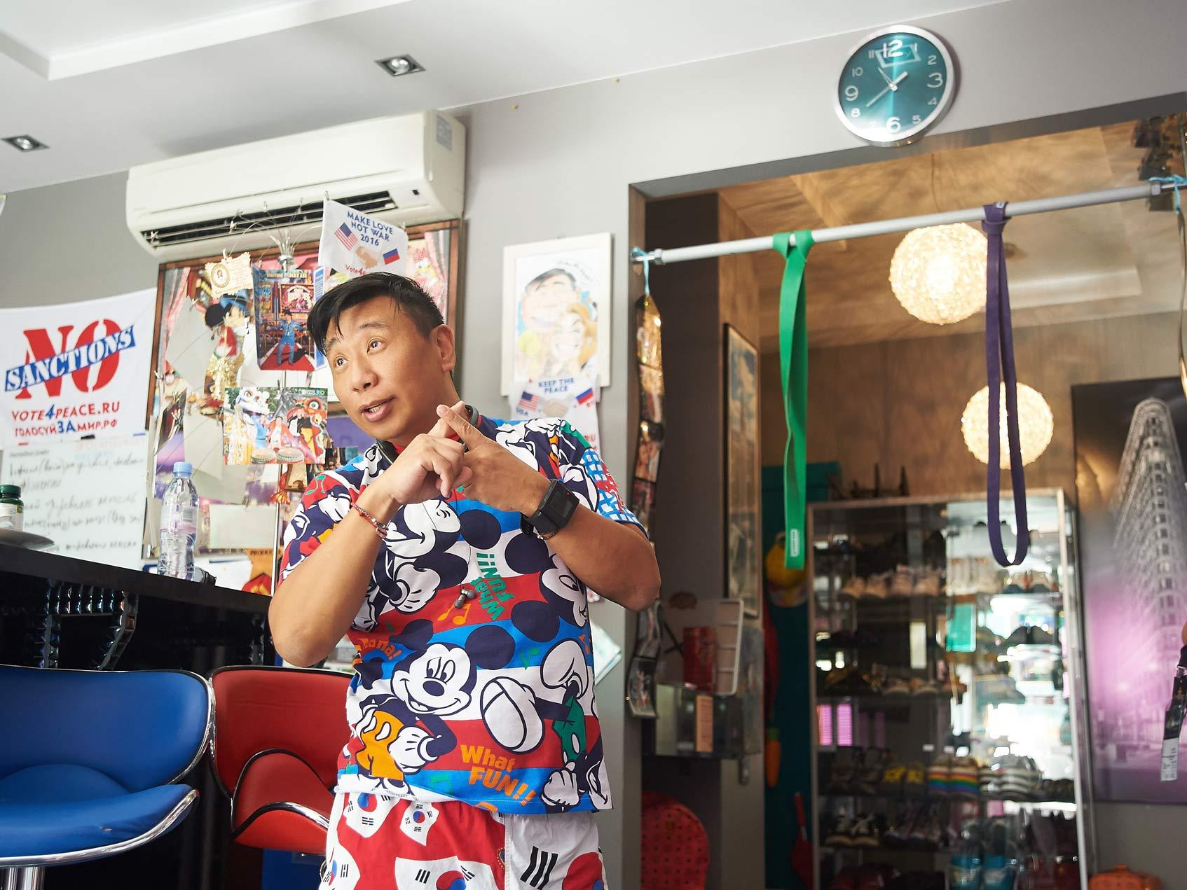 Интервью с Лаки Ли