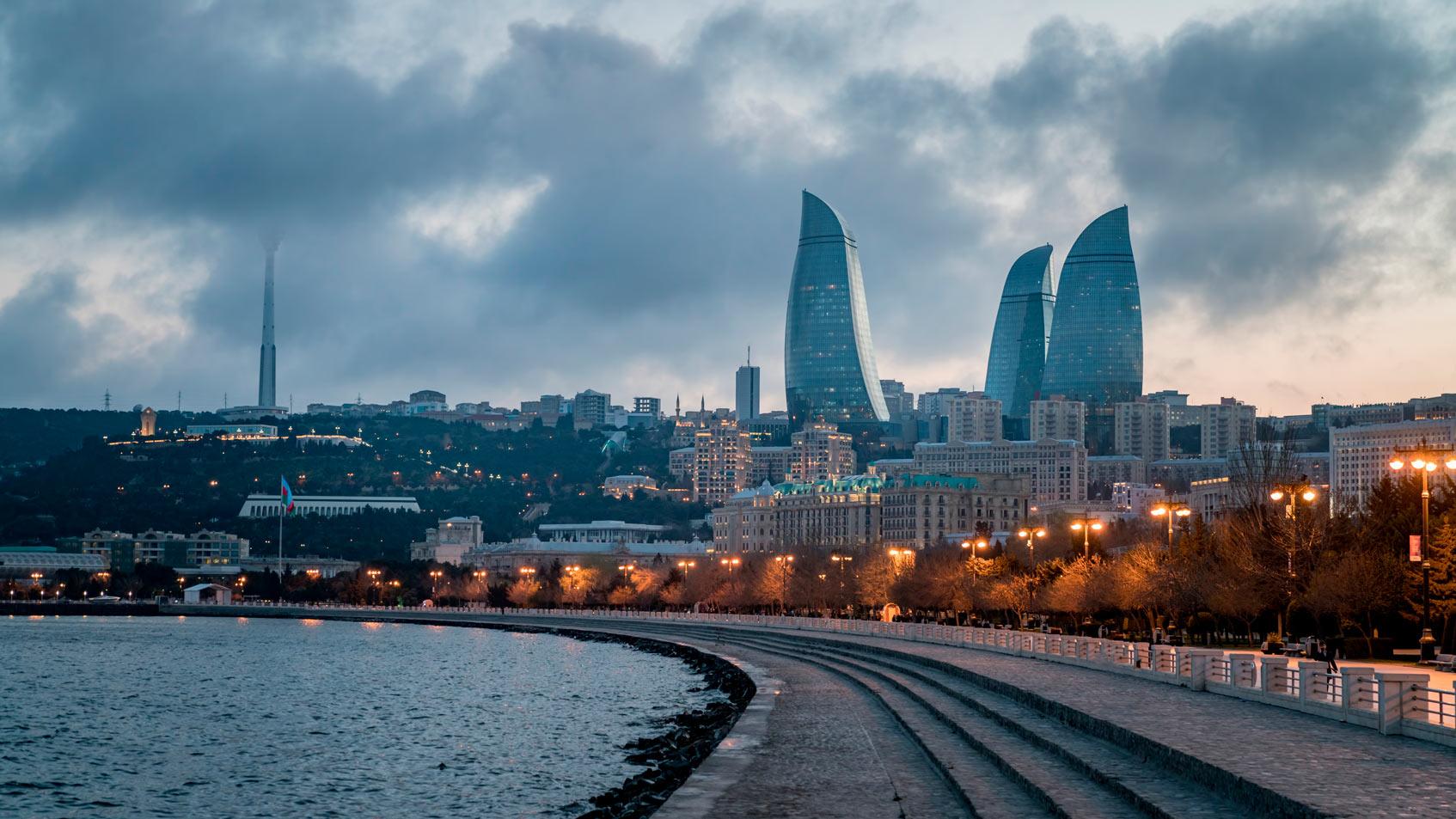 Баку современная архитектура