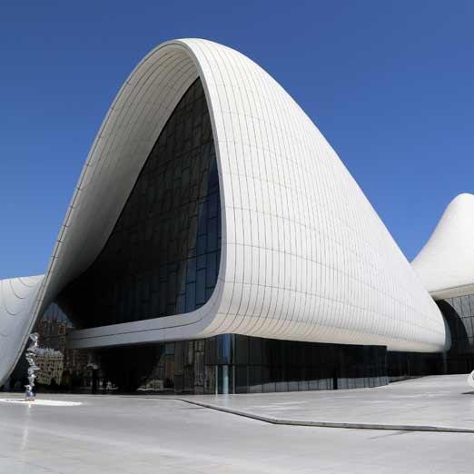 Баку Культурного центра Гейдара Алиева