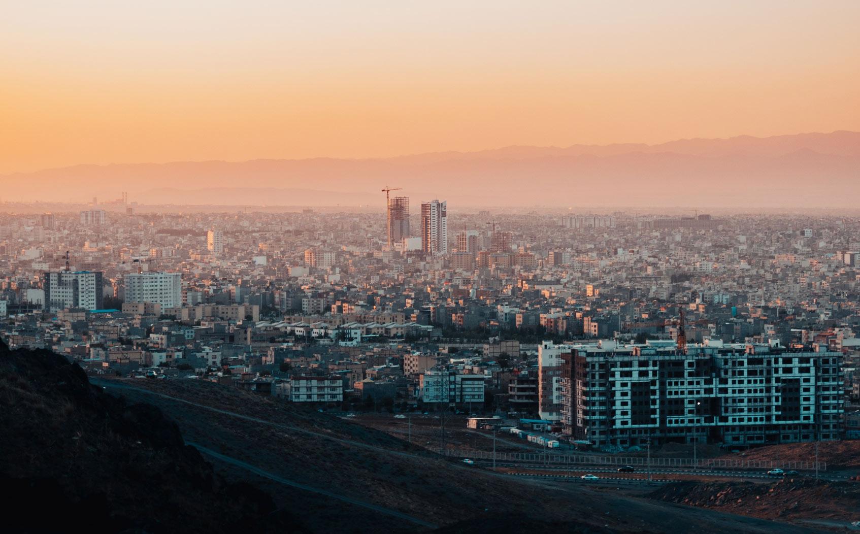Тегеран где остановиться