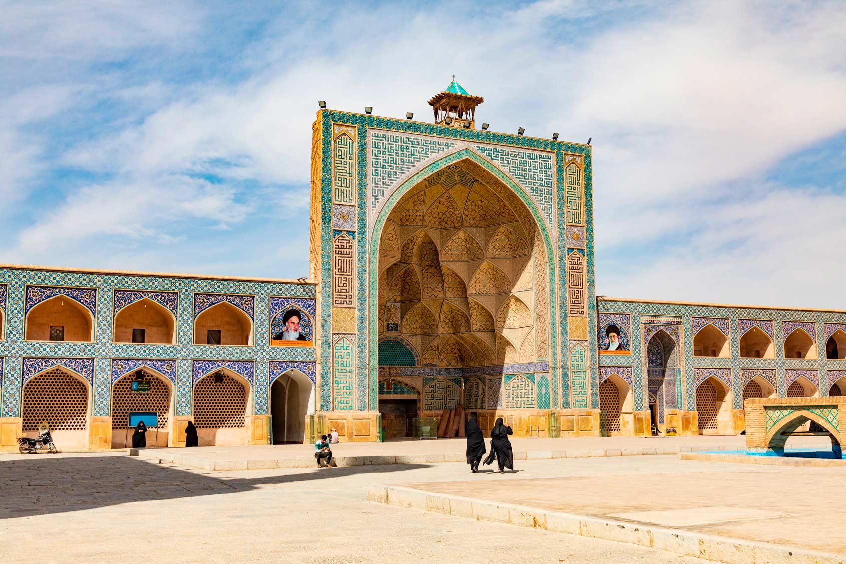 Исфахан Иран достопримечательности