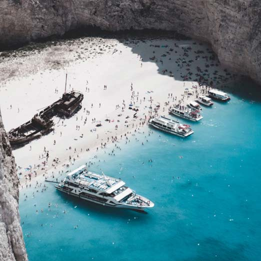 нетуристические острова Греции