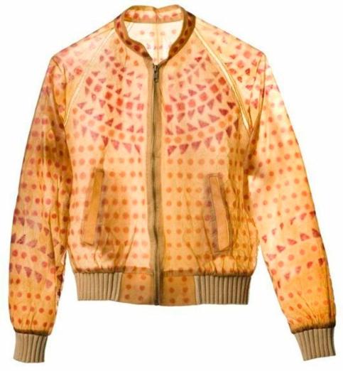 Куртка из комбучи от Сьюзан Ли