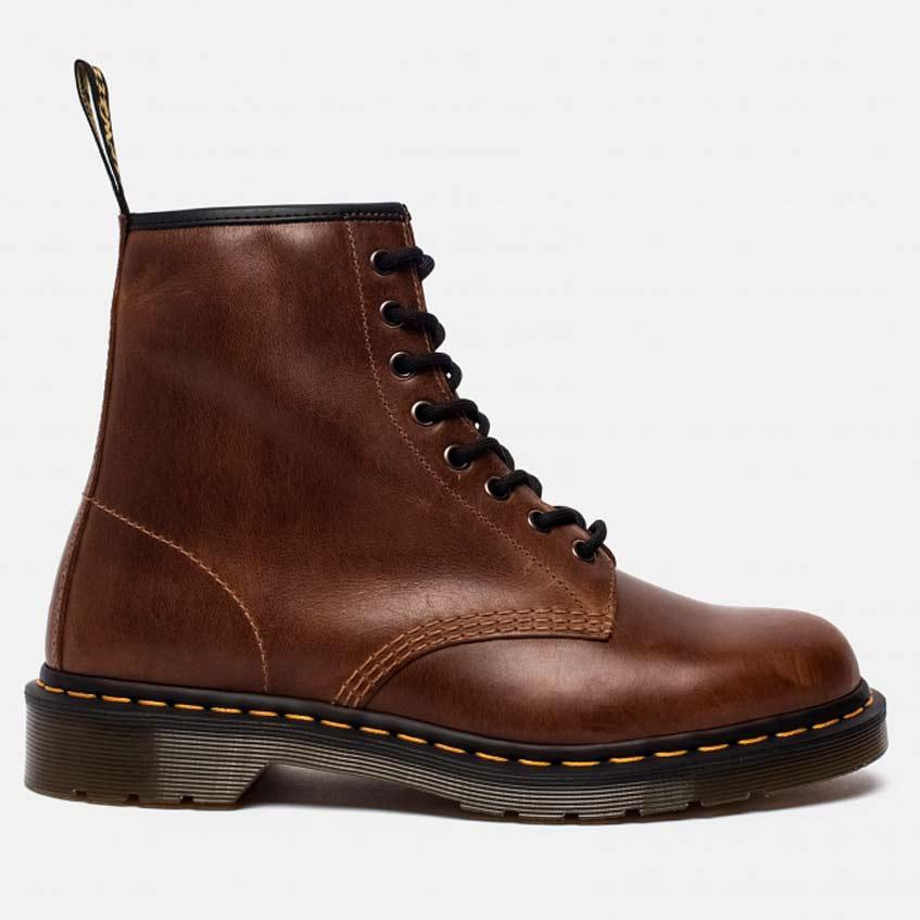 Ботинки коричневые Dr. Martens