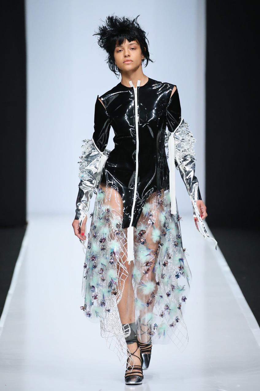 Евгения Баркова платье 2019