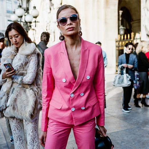 розовый цвет в коллекциях модных дизайнеров