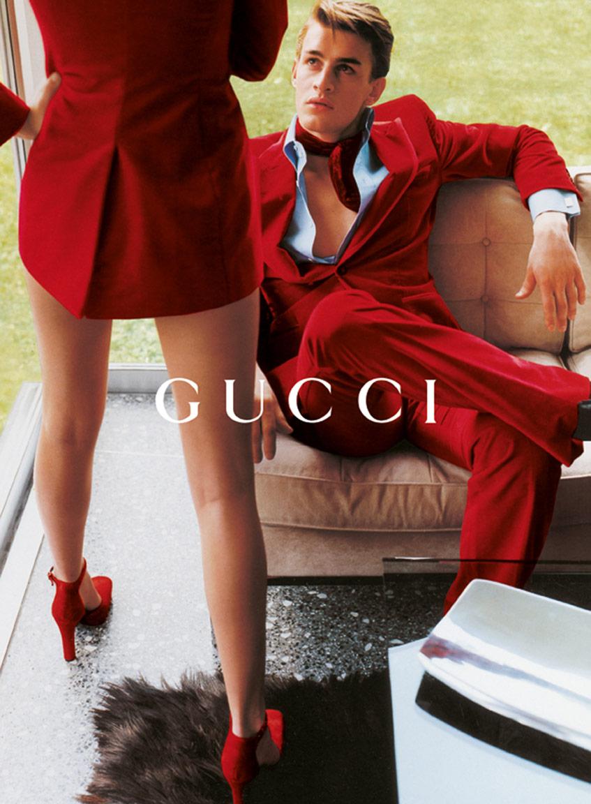 Gucci 1996 Фотограф Марио Тестино