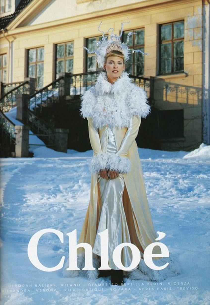 Chloé 1994 Фотограф Карл Лагерфельд