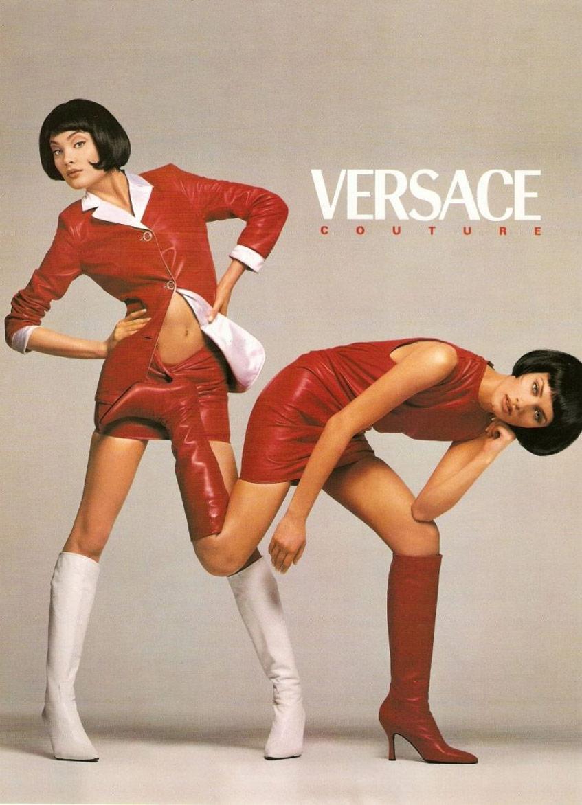 Versace 1995 Фотограф Ричард Аведон