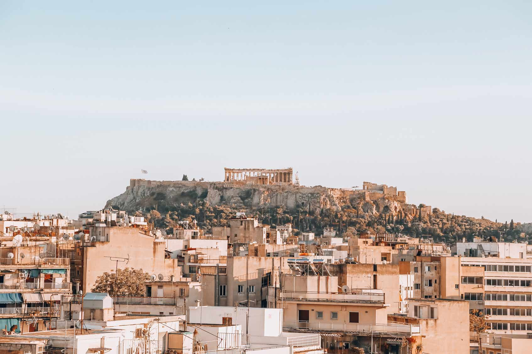погода в Афинах в марте