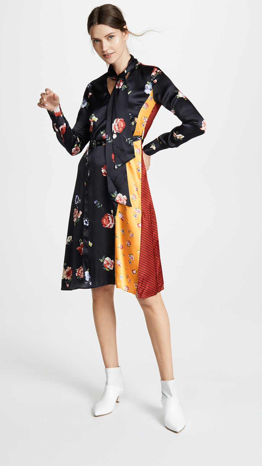 Платье из шелка Edition10