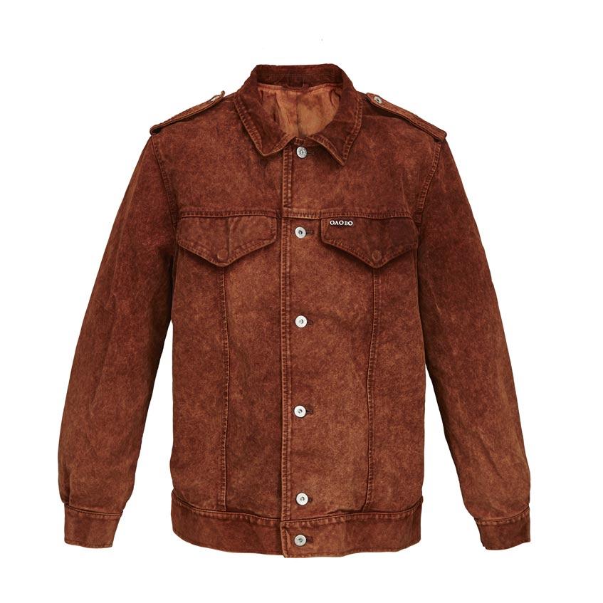 Куртка из замши, «Олово»