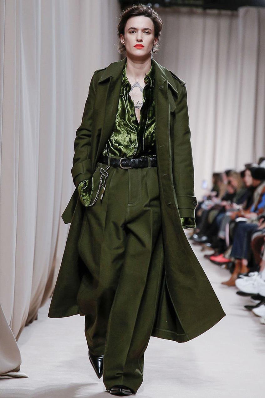 пальто шинель Ami