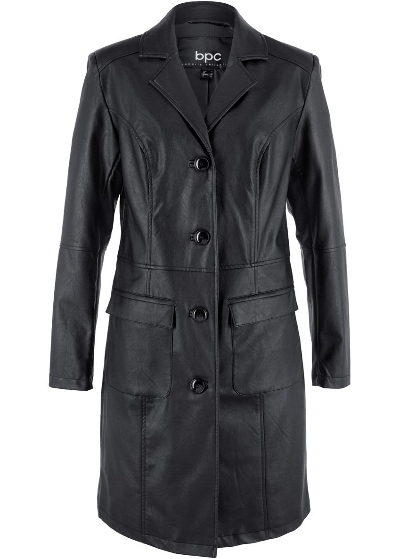 мужское кожаное пальто Bonprix