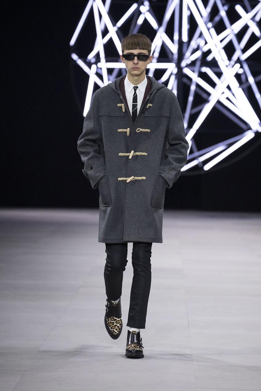 мужское пальто дафлкот Céline 2019