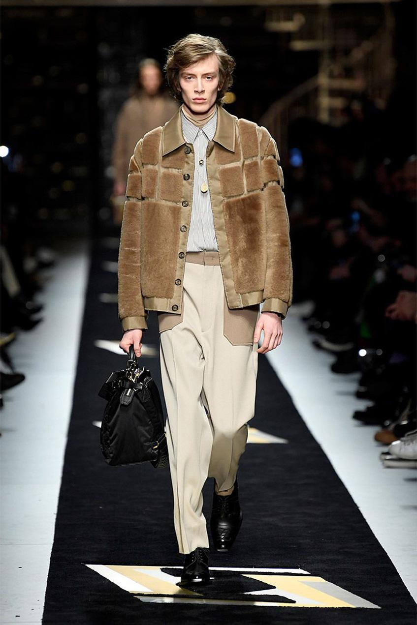 куртка из меха Fendi 2019