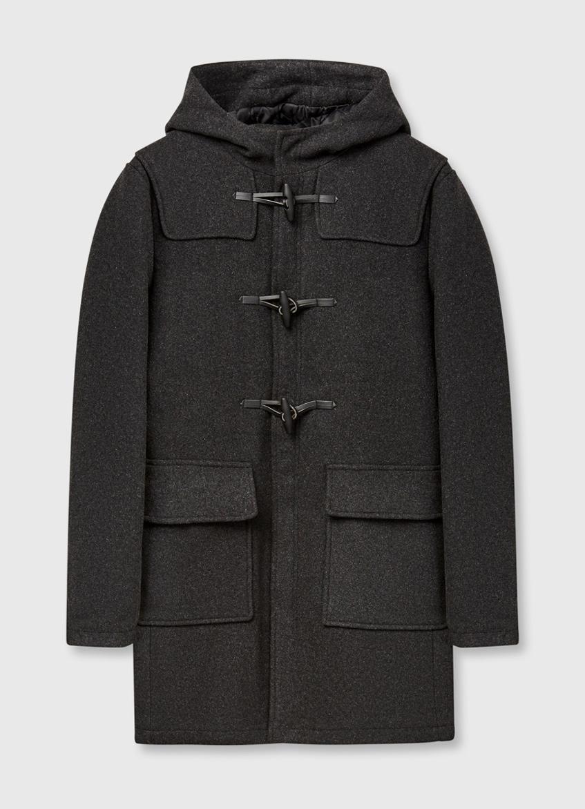 мужское пальто дафлкот O'stin
