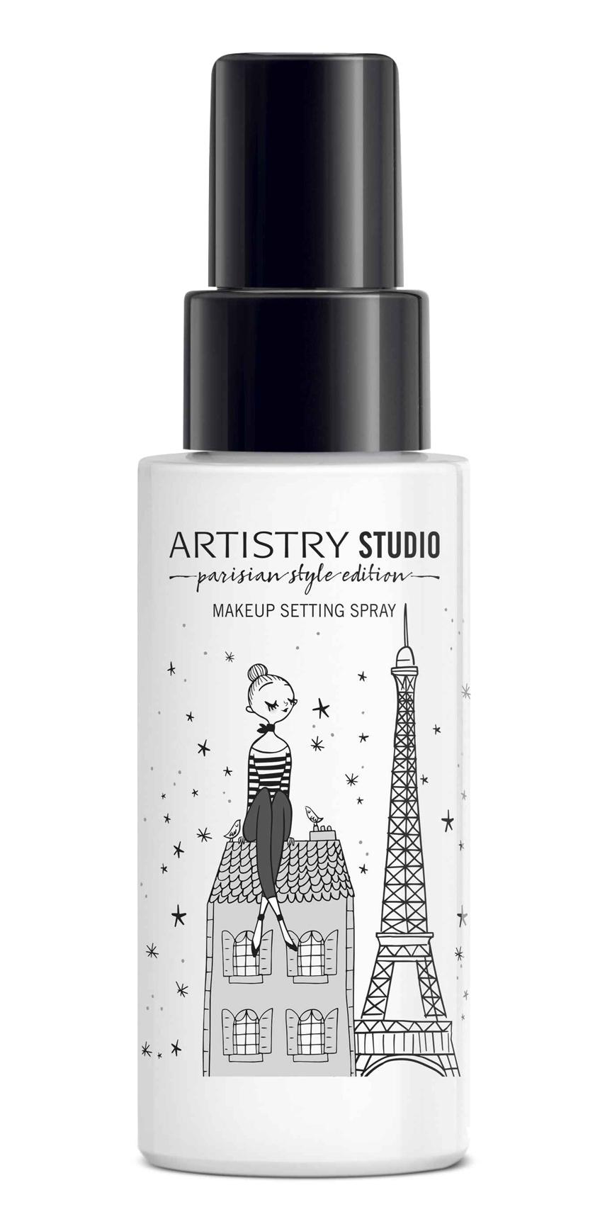 спрей для фиксации макияжа Artistry Studio Parisian Style Edition