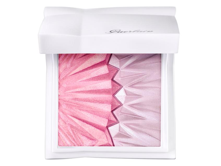 розовый хайлайтер Guerlain Highlighter Duo Météorites