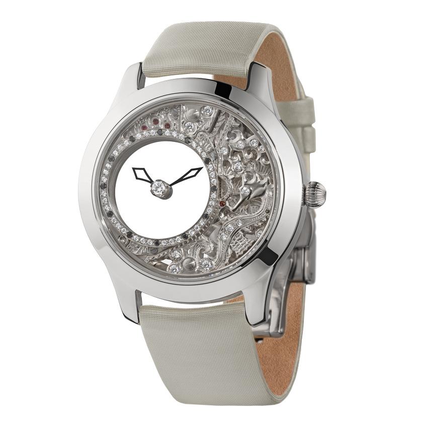 женские часы с драгоценными камнями Ника