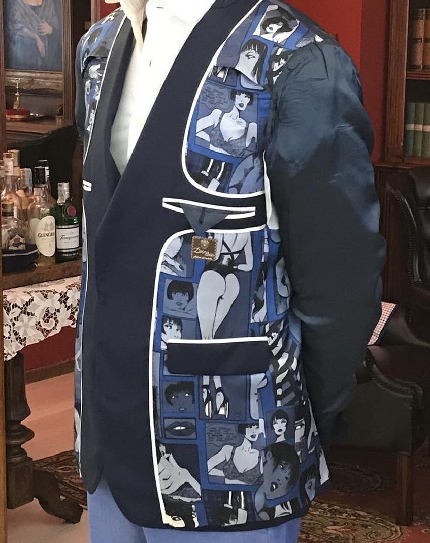 Duca Sartoria ткани и узоры