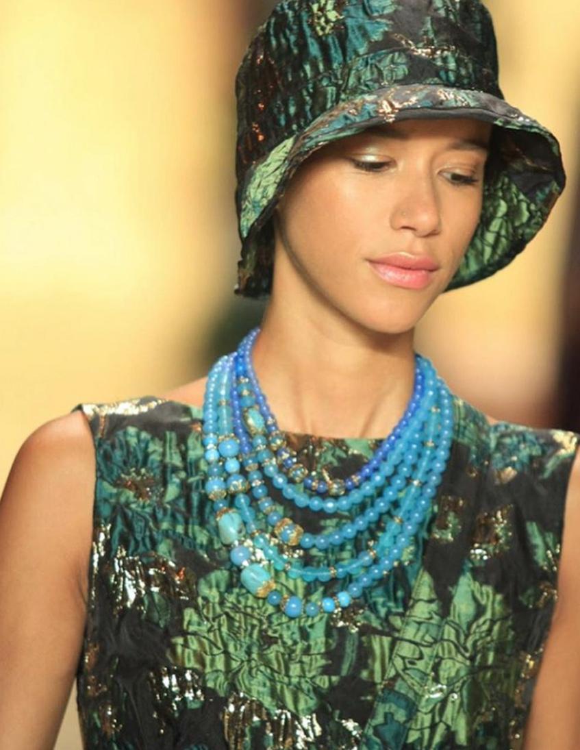 шляпа панама Anna Sui
