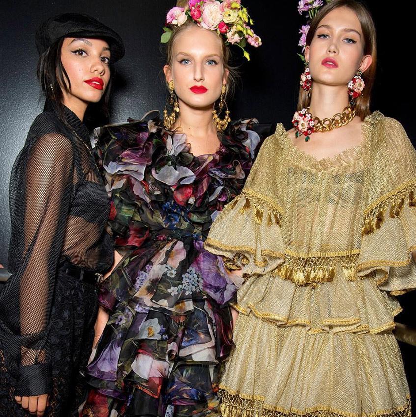 женские головные уборы Dolce & Gabbana