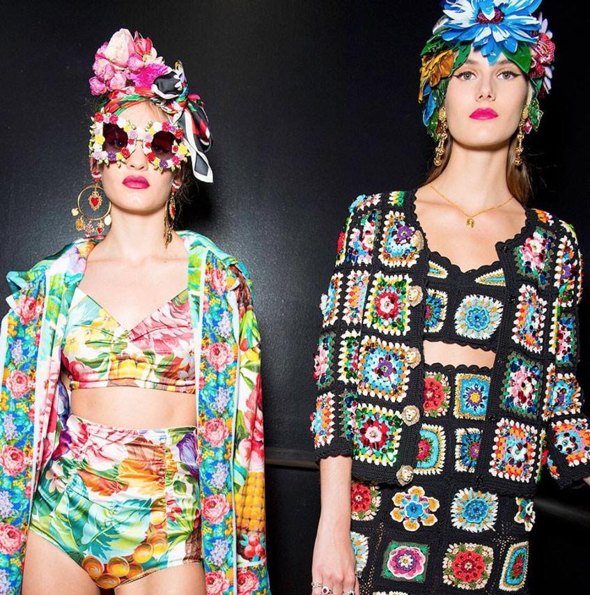 венок на голову Dolce & Gabbana