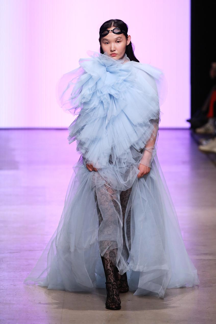 длинное платье HOVANSKIE 2019