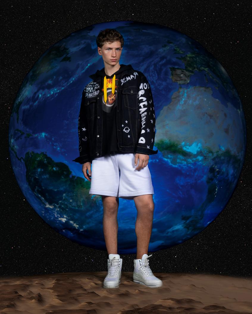 мужская джинсовая куртка Катя Добрякова