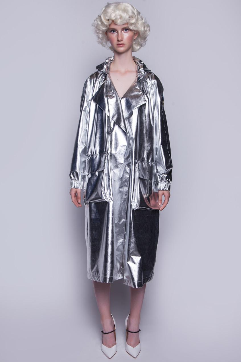 Серебряное пальто Катя Добрякова