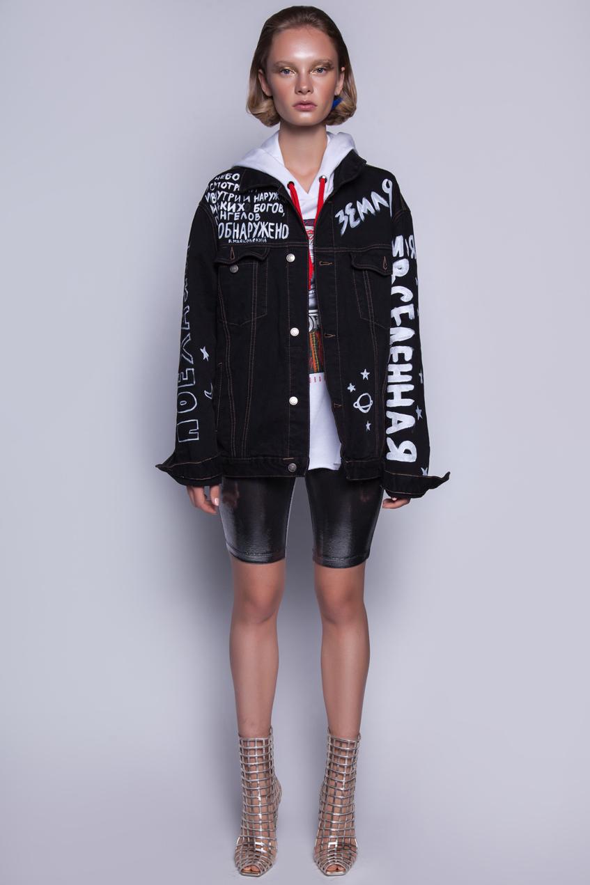 Куртка черная Катя Добрякова